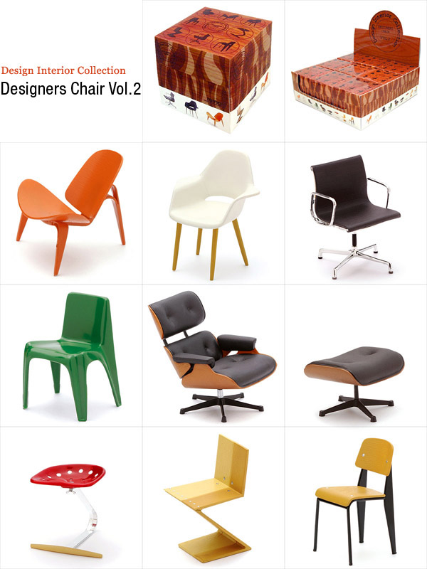 1 12 Designers Chair Reac Japan